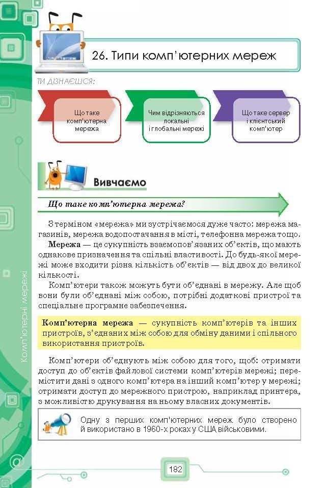 Підручник Інформатика 6 клас Морзе