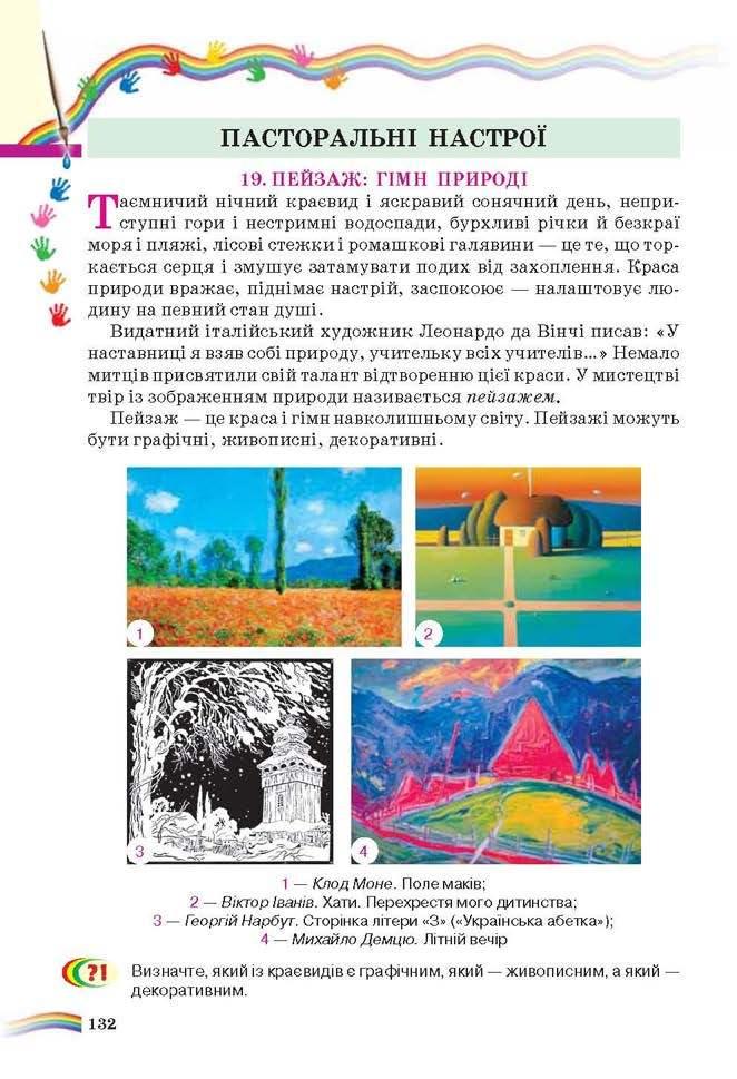 Підручник Мистецтво (інтегрований курс) 6 клас Масол