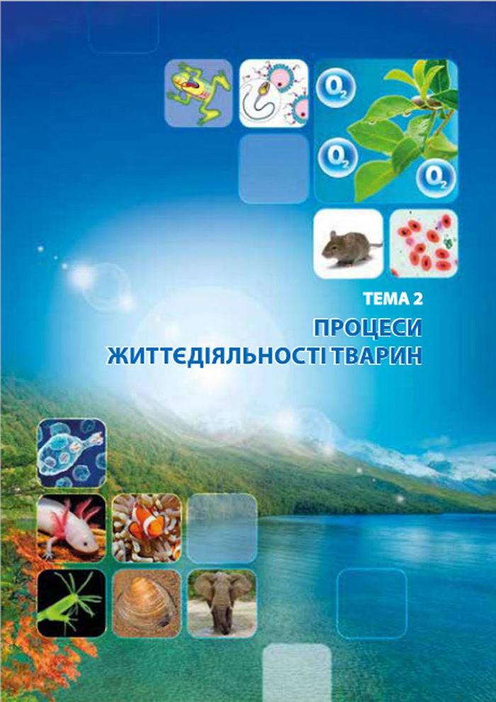 Підручник Біологія 7 клас Соболь 2015