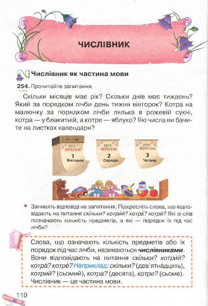 Українська мова 4 клас Захарійчук 2015
