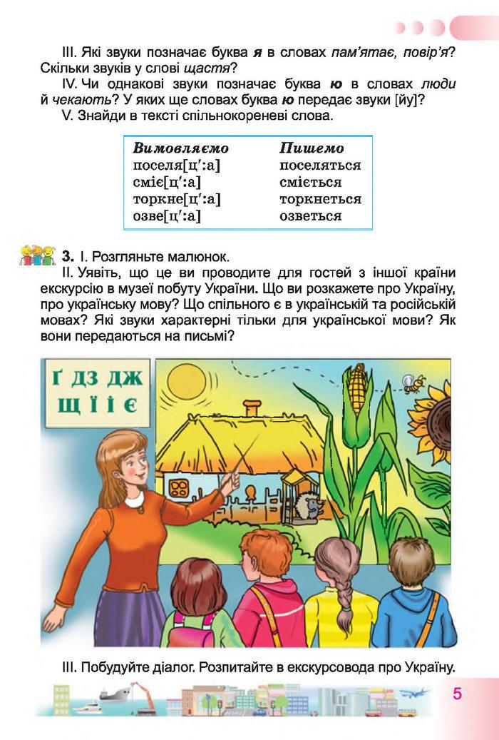 Учебник Українська мова 4 класс Гавриш 2015