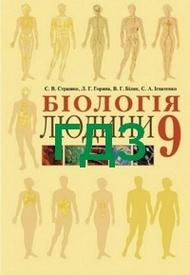 Відповіді Біологія людини 9 клас Страшко 2009. ГДЗ