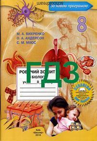 Гдз биология 8 класс