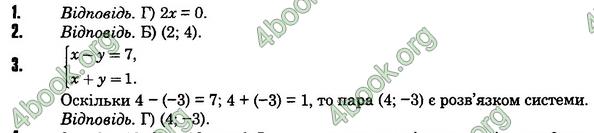 Відповіді Алгебра 7 клас Істер 2015. ГДЗ