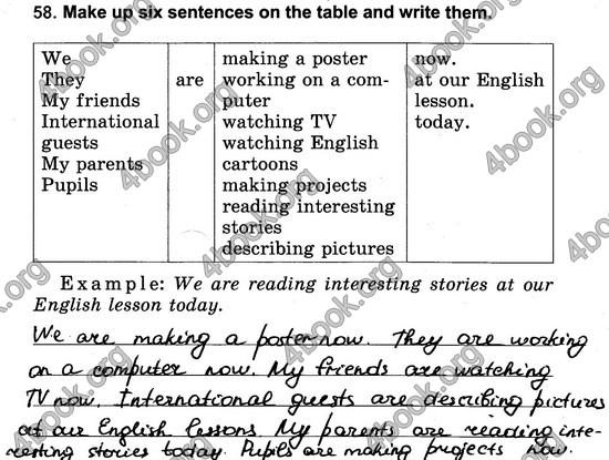 ГДЗ Англійська мова Зошит 3 клас Калініна. Відповіді