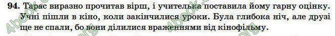ГДЗ (Ответы) Рідна мова 4 клас Вашуленко 2004. Відповіді, решебник