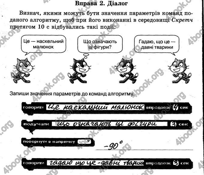 Відповіді Зошит Інформатика 6 клас Морзе. ГДЗ