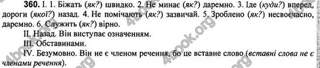 Відповіді Українська мова 7 клас Глазова 2015. ГДЗ