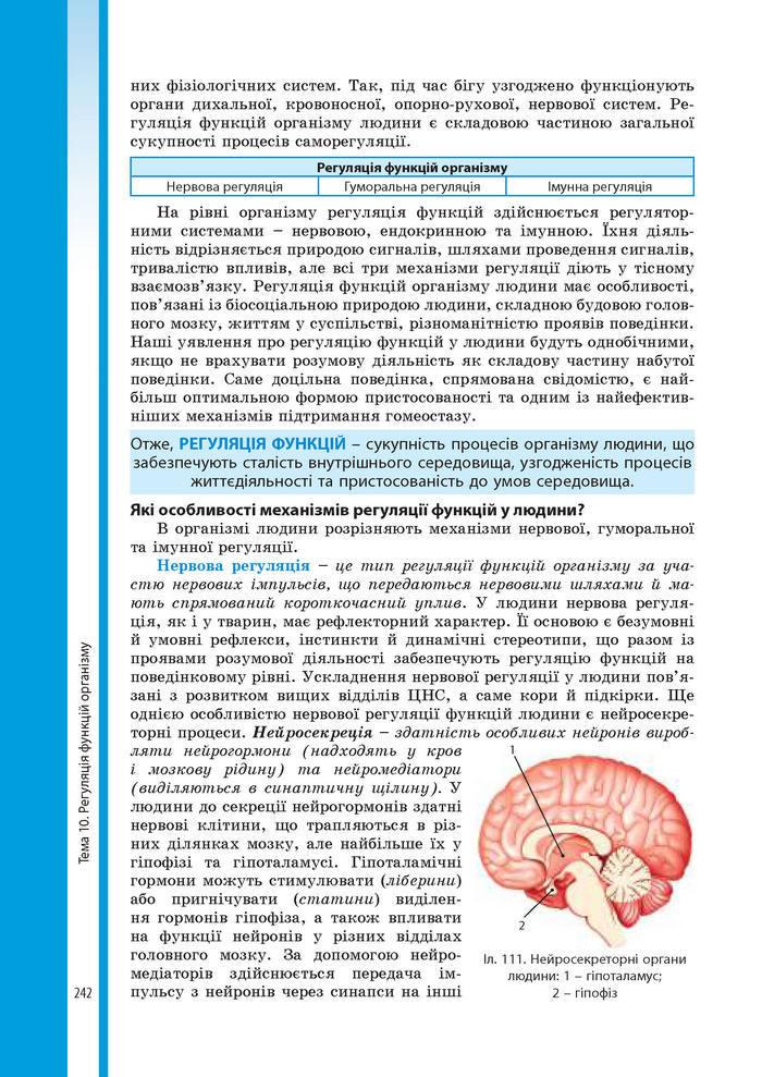 Підручник Біологія 8 клас Соболь 2016 (Укр.)