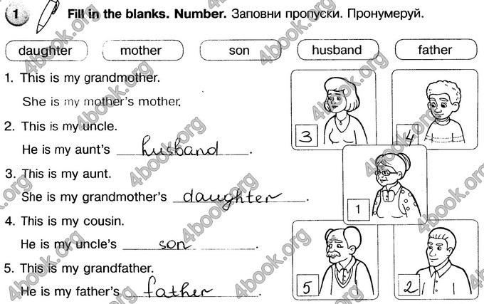 Відповіді Зошит Англійська мова 3 клас Косован, Карп'юк. ГДЗ