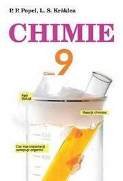 Chimie 9 clasa Popel (румунська)