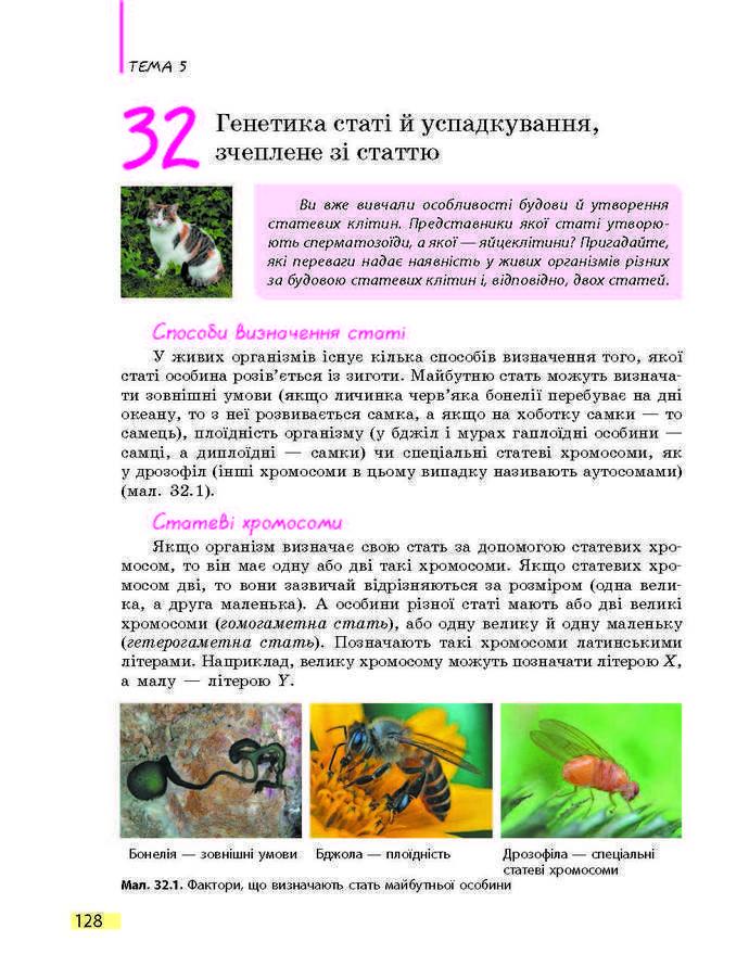 Підручник Біологія 9 клас Задорожний 2017