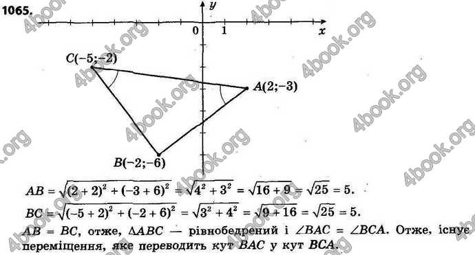 Відповіді Геометрія 9 клас Істер 2017. ГДЗ