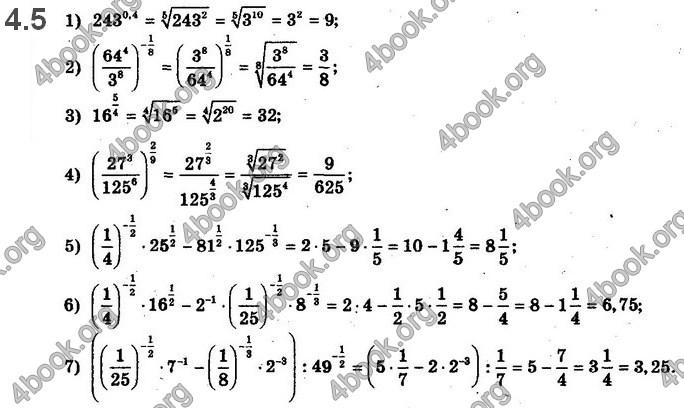 Решебник Математика 10 клас Нелін 2018. ГДЗ