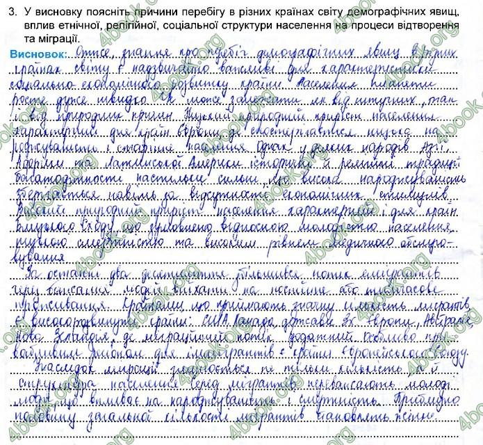 Зошит Географія 11 клас Кобернік. ГДЗ
