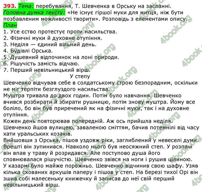 Відповіді Українська мова 8 клас Глазова 2016. ГДЗ